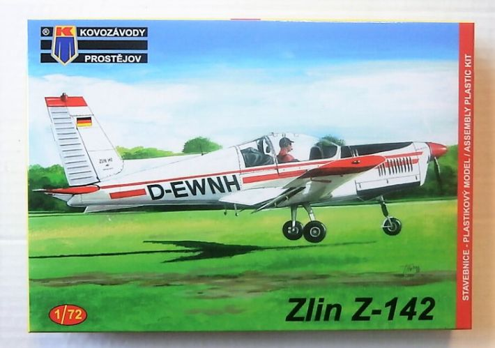 KP 1/72 0142 ZLIN Z-142 CIVIL TRAINER