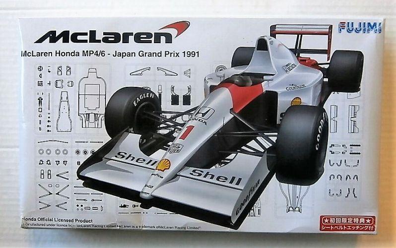 FUJIMI 1/20 GP10 MCLAREN HONDA MP4/6 JAPAN GRAND PRIX 1991