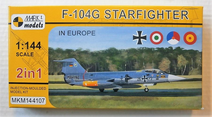 MARK I MODELS 1/144 144107 F-104G STARFIGHTER IN EUROPE