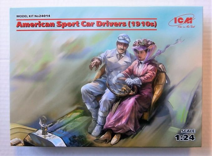 ICM 1/24 24014 AMERICAN SPORT CAR DRIVERS  1910S