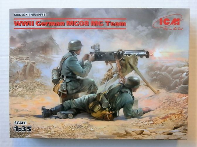 ICM 1/35 35645 WWII GERMAN MG08 MG TEAM