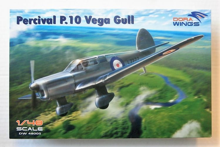 DORA WINGS 1/48 48005 PERCIVAL P.10 VEGA GULL