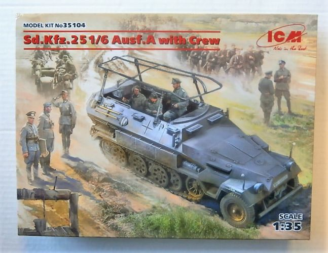 ICM 1/35 35104 SD.KFZ.251/6 AUSF.A WITH CREW