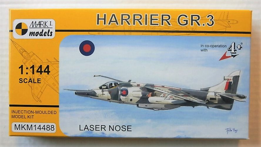 MARK I MODELS 1/144 14488 HARRIER GR.3 LASER NOSE