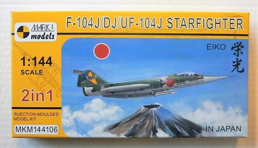 MARK I MODELS 1/144 144106 F-104J/DJ/UF-104J IN JAPAN