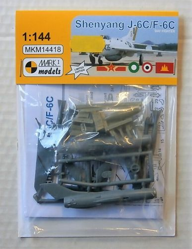 MARK I MODELS 1/144 14418 SHENYANG J-6C/ F-6C