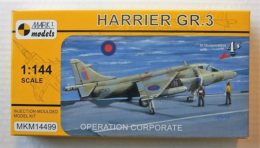 MARK I MODELS 1/144 14499 HARRIER GR.3 OPERATION CORPORATE