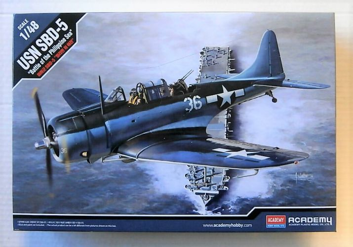 ACADEMY 1/48 12329 USN SBD-5 BATTLE OF THE PHILIPPINE SEA