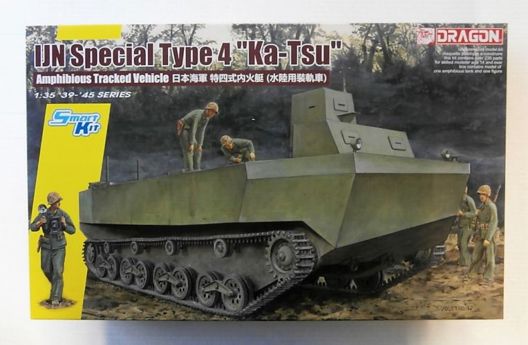 DRAGON 1/35 6839 IJN SPECIAL TYPE 4  KA-TSU   UK SALE ONLY
