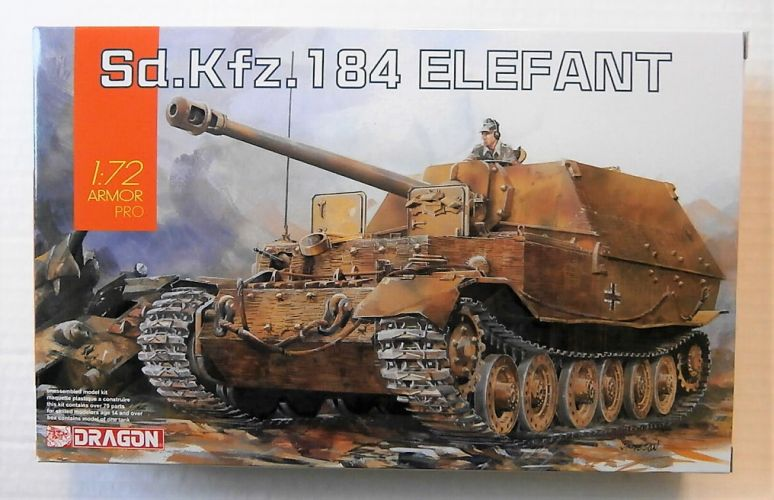 DRAGON 1/72 7515 Sd.Kfz.184 ELEFANT