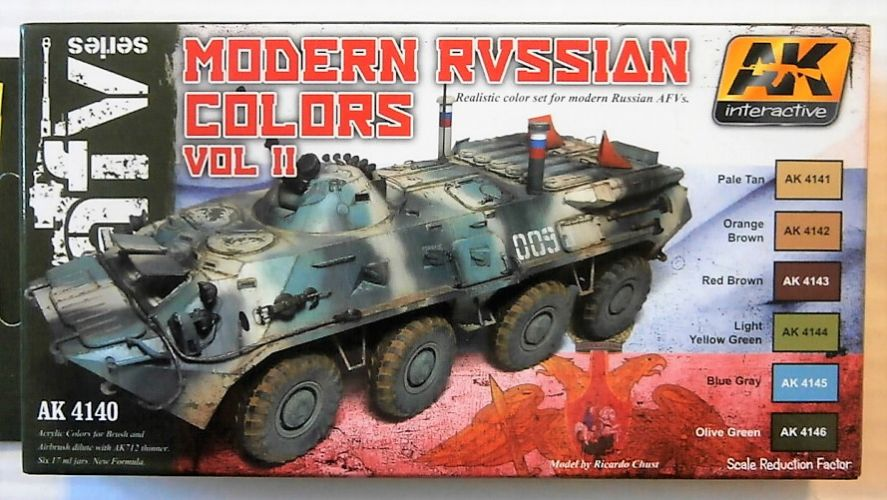 AK INTERACTIVE  4140 MODERN RUSSIAN COLOURS VOL II