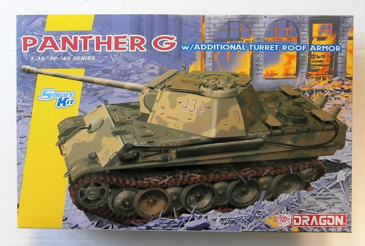 DRAGON 1/35 6897 PANTHER G  WITH ADDITIONAL TURRET ROOF ARMOUR