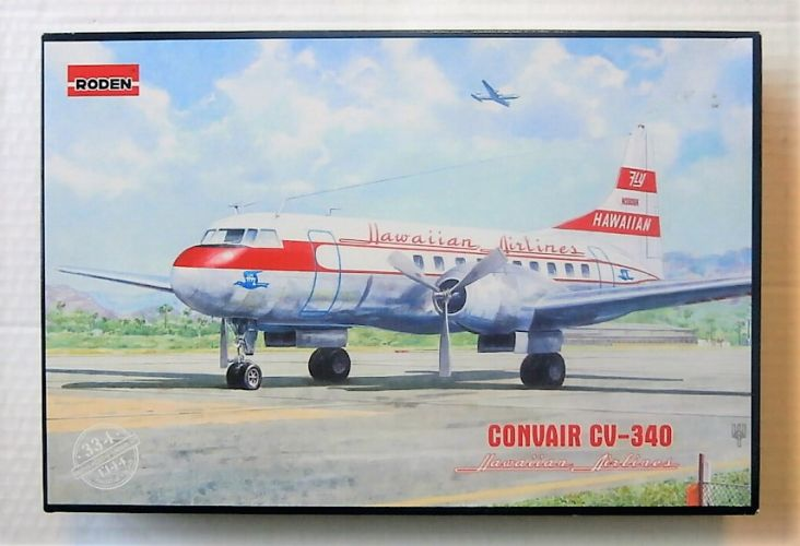 RODEN 1/144 334 CONVAIR CV-340 HAWAIIAN AIRLINES