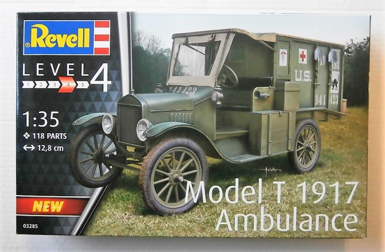 REVELL 1/35 03285 MODEL T 1917 AMBULANCE