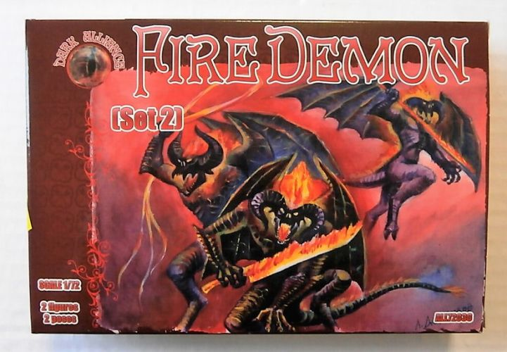 1/72  DARK ALLIANCE 72036 FIRE DEMON  SET 2