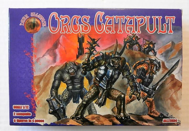 1/72 DARK ALLIANCE 72034 ORCS CATAPULT