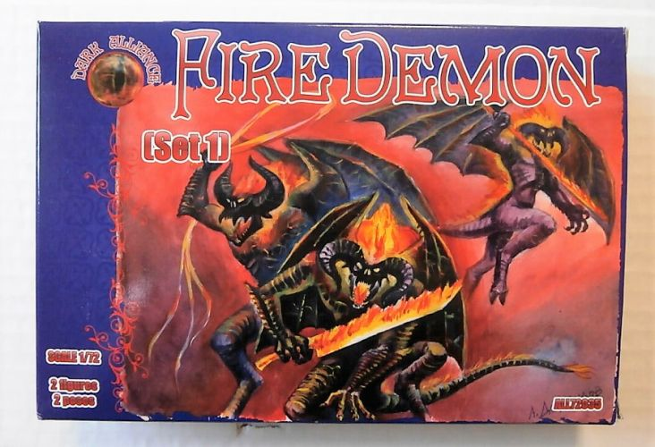 1/72 DARK ALLIANCE 72035 FIRE DEMON  SET 1