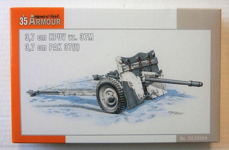SPECIAL ARMOUR 1/35 35004 3.7cm KPUV vz. 37M/3.7cm PAK 37 t
