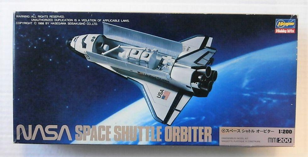 HASEGAWA 1/200 MM16 NASA SPACE SHUTTLE ORBITER