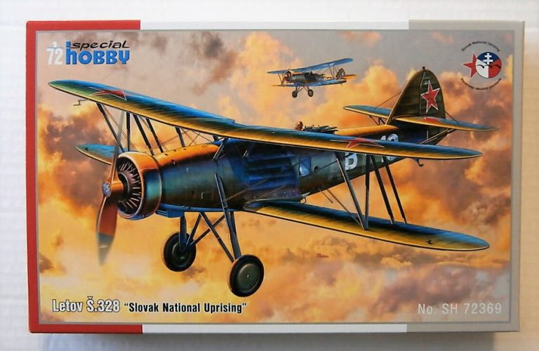 SPECIAL HOBBY 1/72 72369 LETOV S.328  SLOVAK NATIONAL UPRISING