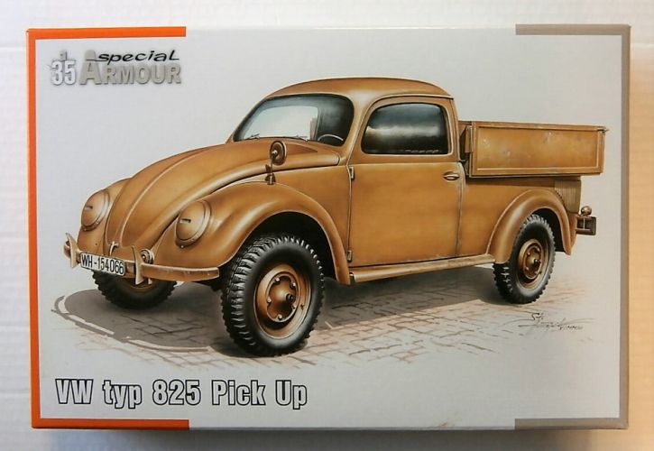 SPECIAL ARMOUR 1/35 35007 VW typ 825 PICK UP