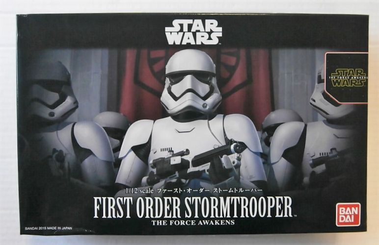 BANDAI 1/12 0203217 STAR WARS FIRST ORDER STORMTROOPER