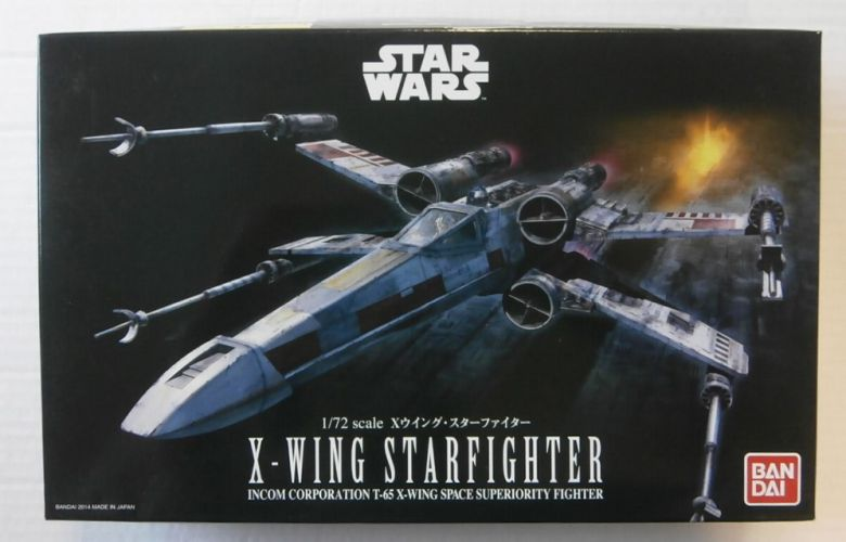 BANDAI 1/72 0191406 X-WING STARFIGHTER