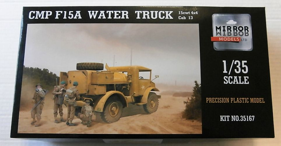 MIRROR MODELS 1/35 35167 CMP F15A WATER TRUCK