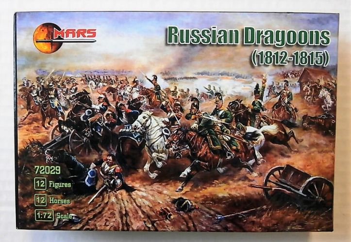 MARS 1/72 72029 RUSSIAN DRAGOONS  1812 - 1815