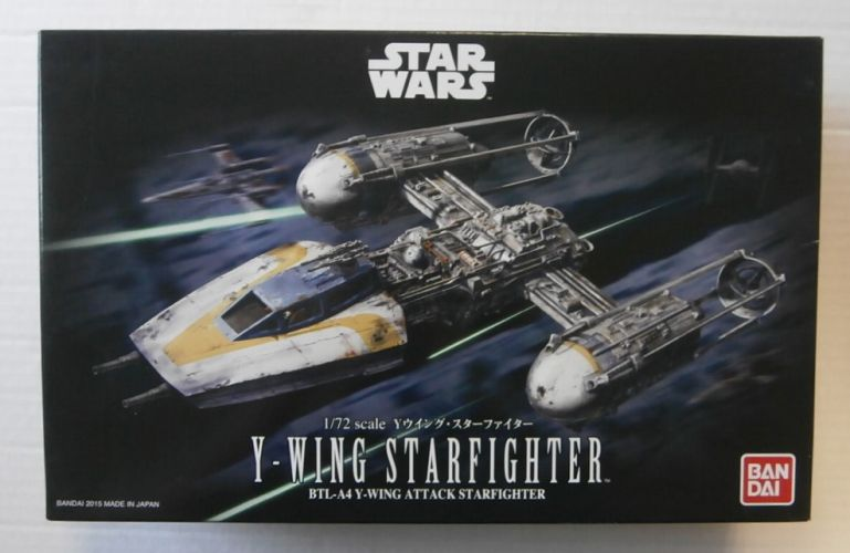 BANDAI 1/72 0196694 Y-WING STARFIGHTER