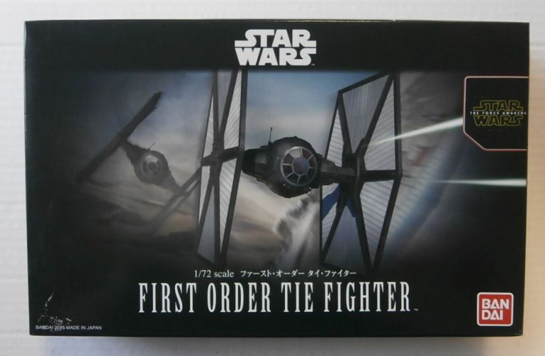 BANDAI 1/72 0203218 FIRST ORDER TIE FIGHTER