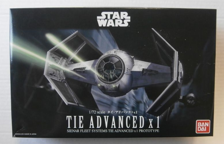 BANDAI 1/72 0191407 TIE ADVANCED X1