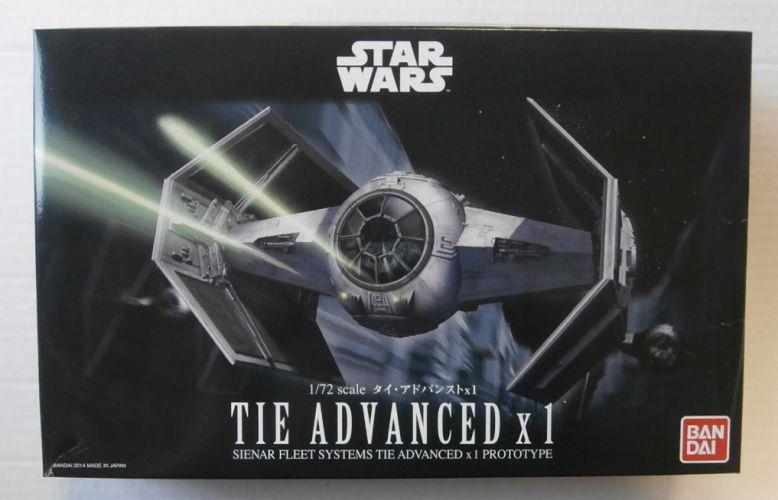 BANDAI 1/72 0191407 STAR WARS TIE ADVANCED X1