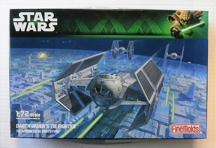 FINEMOLDS 1/72 SW-16 DARTH VADERS TIE FIGHTER