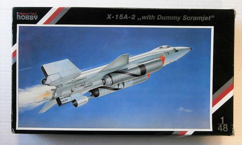 SPECIAL HOBBY 1/48 48029 X-15A-2 WITH DUMMY SCRAM JET