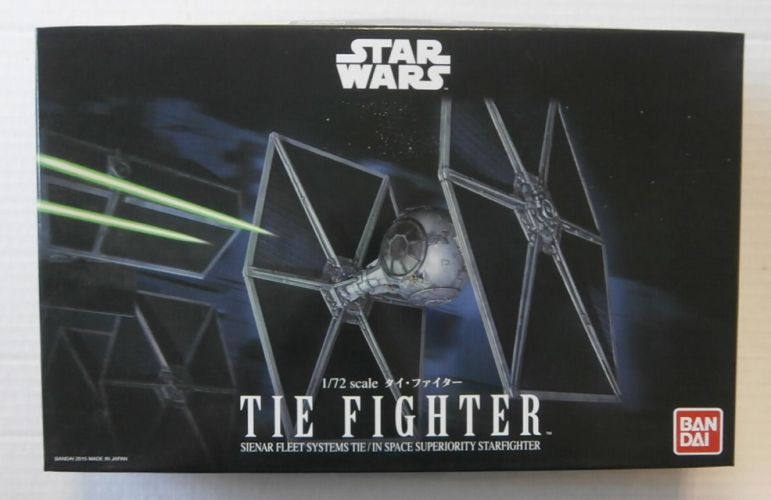 BANDAI 1/72 0194870 STAR WARS TIE FIGHTER