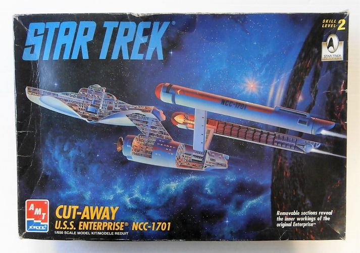 AMT 1/650 8790 CUY-AWAY USS ENTERPRISE NCC-1701