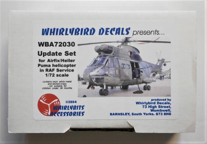 WHIRLYBIRD 1/72 WBA72030 UPDATE SET FOR AIRFIX/HELLER PUMA HELICOPTER