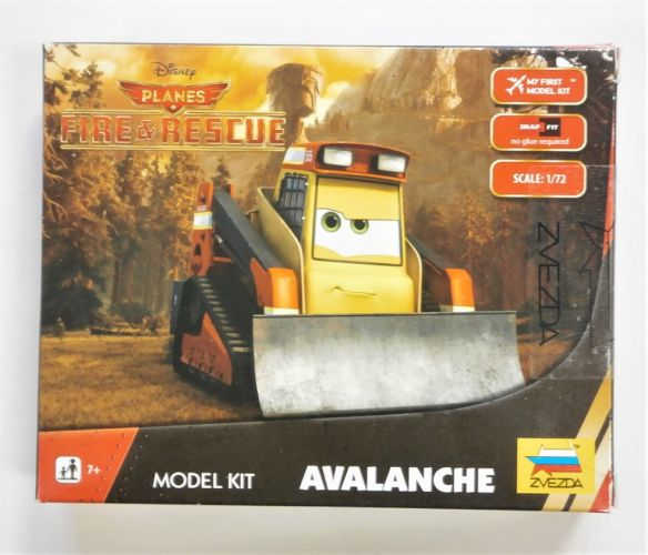 ZVEZDA 1/72 2079 AVALANCHE PLANES FIRE AND RESCUE