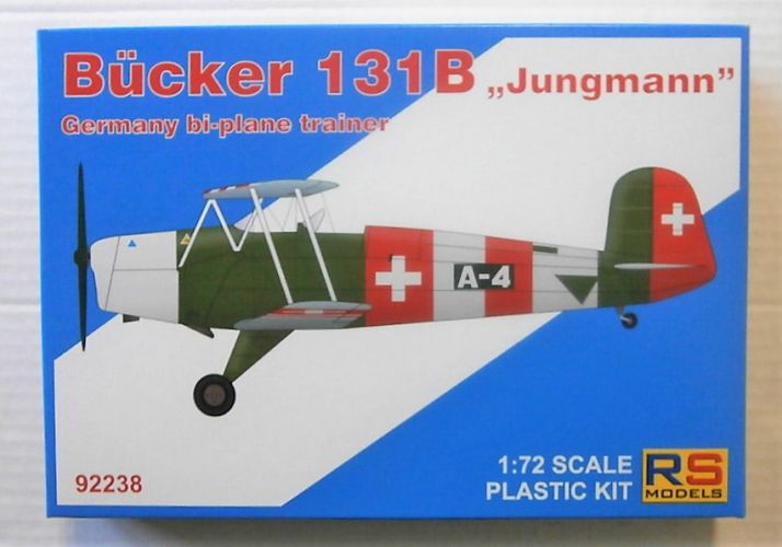 RS MODELS 1/72 92238 BUCKER 131B - JUNGMANN