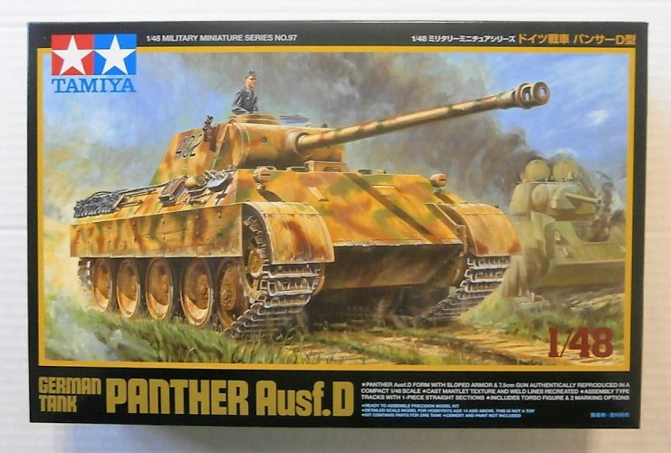 TAMIYA 1/48 32597 PANTHER AUSF.D GERMAN TANK
