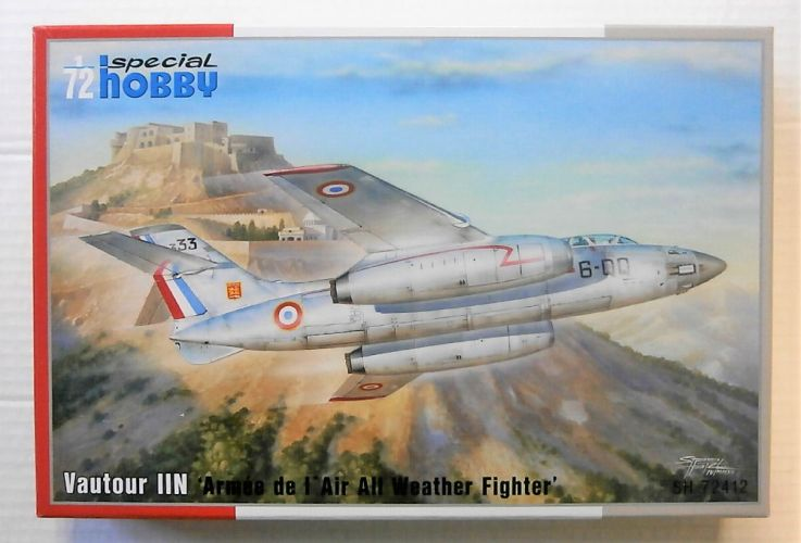 SPECIAL HOBBY 1/72 72412 VAUTOUR IIN - ARMEE DE L AIR ALL WEATHER FIGHTER