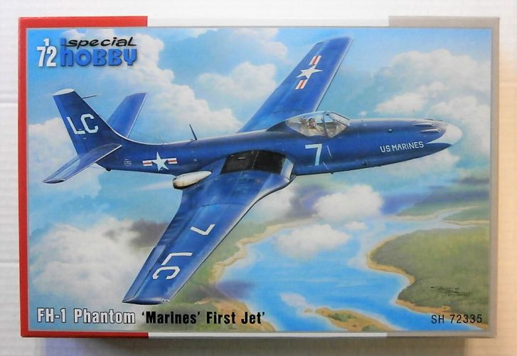 SPECIAL HOBBY 1/72 72335 FH-1 PHANTOM - MARINES FIRST JET