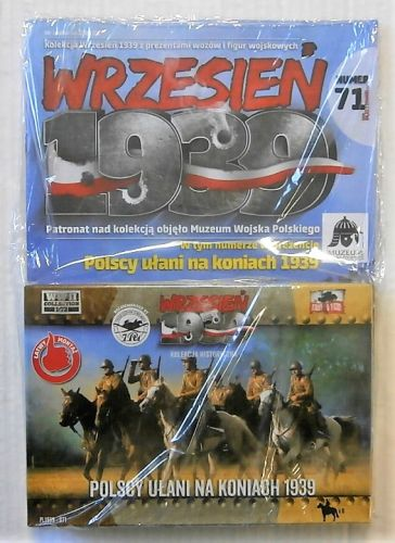 FIRST TO FIGHT 1/72 071 POLISH UHLANS ON HORSEBACK 1939