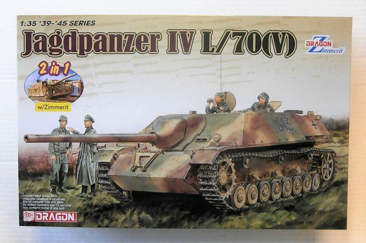 DRAGON 1/35 6498 JAGDPANZER IV L/70 V