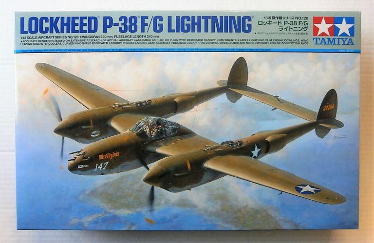 TAMIYA 1/48 61120 LOCKHEED P-38 F/G LIGHTNING