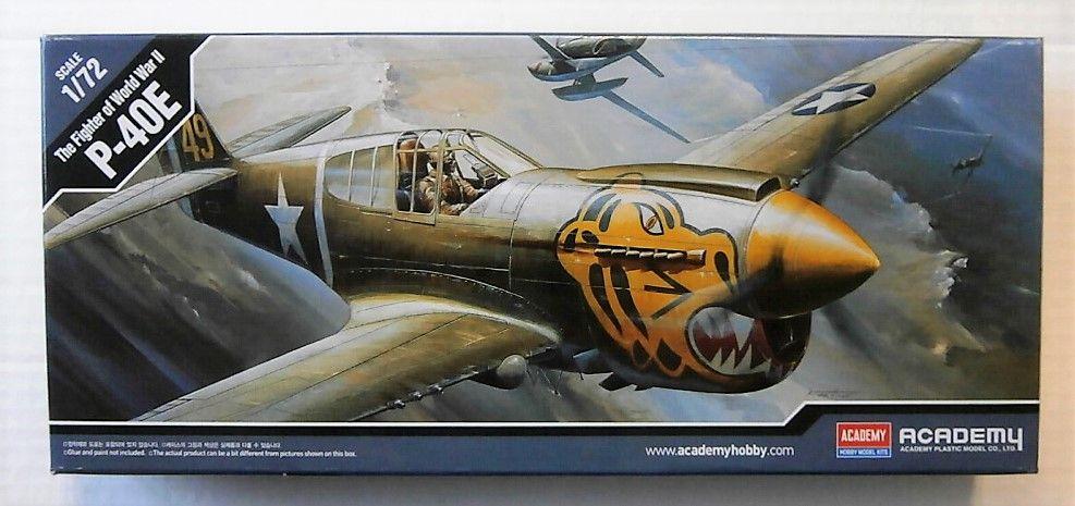 ACADEMY 1/72 12468 P-40E