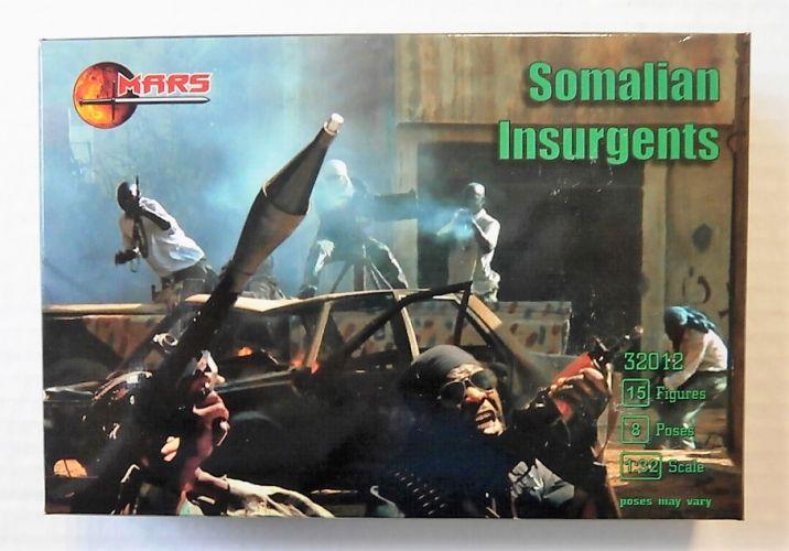 MARS 1/32 32012 SOMALIAN INSURGENTS