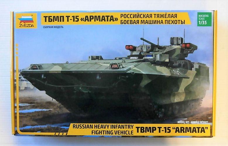 ZVEZDA 1/35 3681 TBMP T-15 ARMATA - RUSSIAN HEAVY INFANTRY FIGHTING VEHICLE