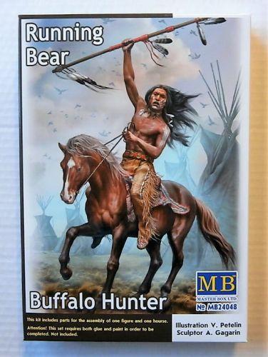 MASTERBOX 1/24 24048 BUFFALO HUNTER RUNNING BEAR